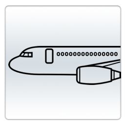 Flight track icon